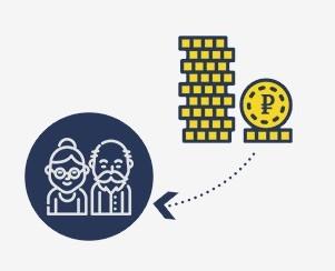 Как взять займ для пенсионера до 70 лет:  на Маэстро или Киви