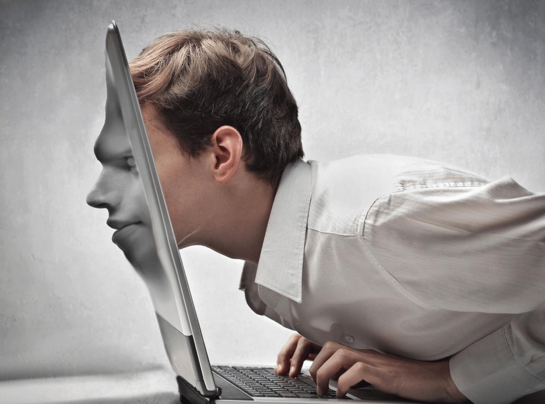 Фото вывода интернета и телевидения в стене замши девушки
