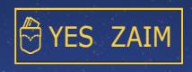 Логотип йес займ