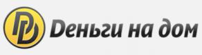 Логотип деньги на дом