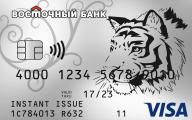 Восторг Кредитная карта банка восток