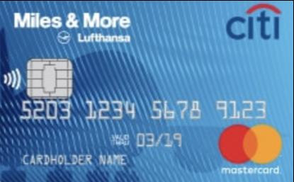 Логотип кредитной карты Ситибанк Miles more