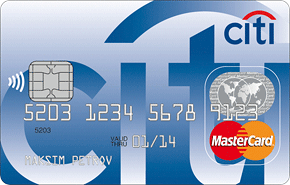 Логотип Citibank Mastercard