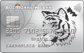 Банк восточный кредитная карта кэшбэк