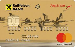 Кредитная карта австрийских авиалиний от Райффайзенбанка