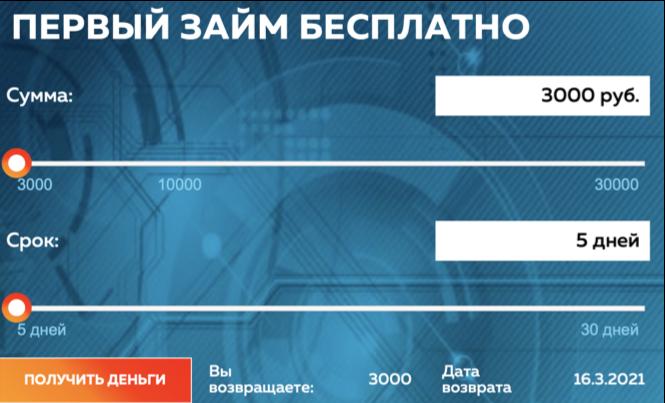 Онлайн калькулятор кредитроник