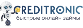 Логотип кредитроник