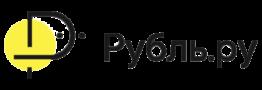 Логотип рубль ру