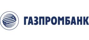 Логотип газпром банк